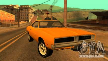 Dodge Charger RT 1969 Orange pour GTA San Andreas