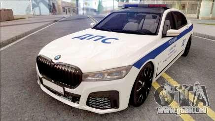 BMW M760Li 2019 DPS pour GTA San Andreas