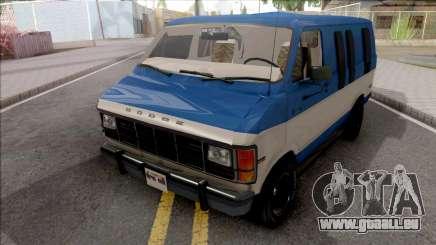 Dodge Ram Van 1989 pour GTA San Andreas