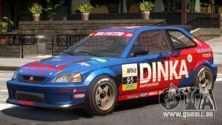 Dinka Blista Compact V1 PJ7 für GTA 4