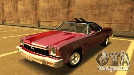 1973 Chevrolet El Camino SS 350 für GTA San Andreas