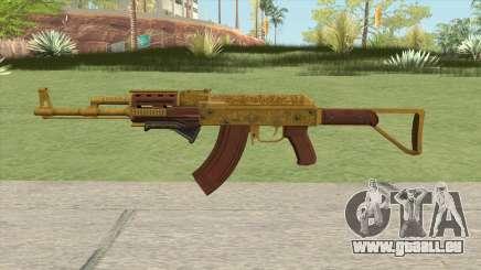 Assault Rifle GTA V Grip (Default Clip) pour GTA San Andreas