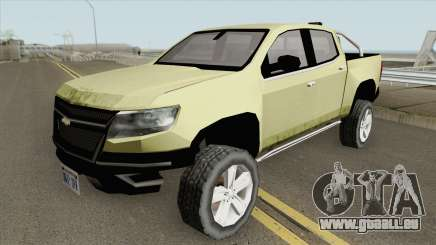 Chevrolet Colorado Z71 2019 pour GTA San Andreas