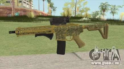 Carbine Rifle GTA V (Camuflaje) pour GTA San Andreas