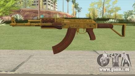 Assault Rifle GTA V Flashlight (Extended Clip) pour GTA San Andreas