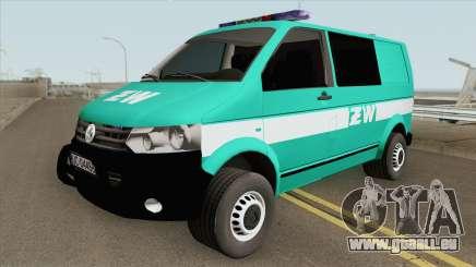 Volkswagen Transporter T6 (Zandarmeria Wojskowa) pour GTA San Andreas