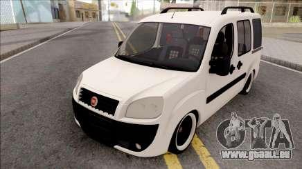 Fiat Doblo Combi Mix 2010 für GTA San Andreas