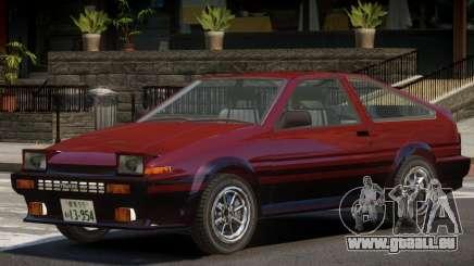 1986 Toyota Sprinter V1.2 pour GTA 4