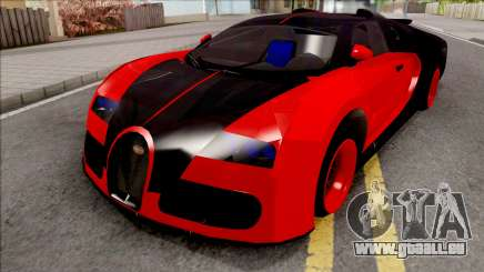 Bugatti Veyron Red pour GTA San Andreas