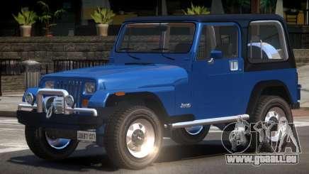 1986 Jeep Wrangler pour GTA 4