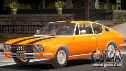 1970 Audi 100 V1.2 pour GTA 4