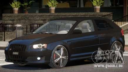 Audi S3 GT pour GTA 4