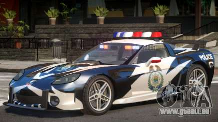 Chevrolet Corvette Police für GTA 4