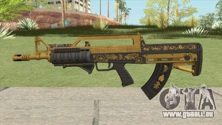 Bullpup Rifle (Two Upgrades V1) Main Tint GTA V für GTA San Andreas