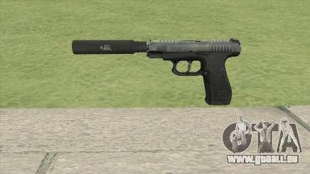 GSh-18 Suppressed (Contract Wars) für GTA San Andreas