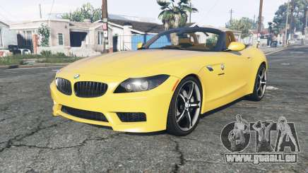 BMW Z4 sDrive28i M Sport (E89) 2012 pour GTA 5