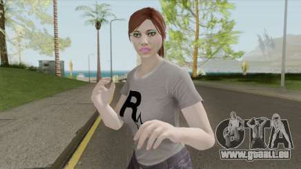 GTA Online Skin Random Female V1 für GTA San Andreas