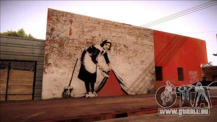 Graffiti Banksy pour GTA San Andreas