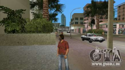 Qualität roten T-shirt für GTA Vice City