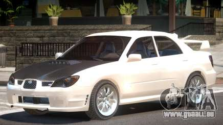Subaru Impreza WRX ST pour GTA 4