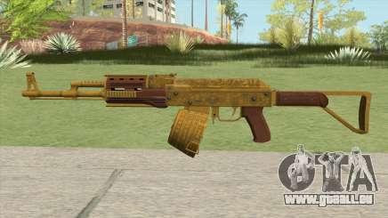 Shrewsbury Assault Rifle GTA V (Box Clip) pour GTA San Andreas