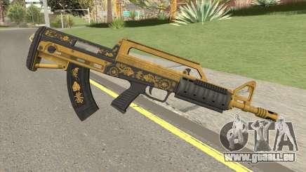 Bullpup Rifle (Base V1) Main Tint GTA V für GTA San Andreas