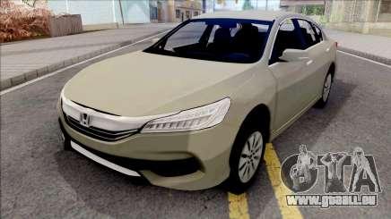 Honda Accord 2017 SA Style für GTA San Andreas