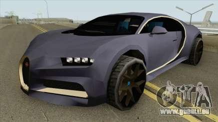 Bugatti Chiron Sport (SA Style) 2018 pour GTA San Andreas