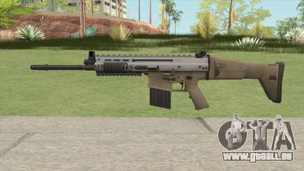 SCAR-H (Arctic Combat) pour GTA San Andreas