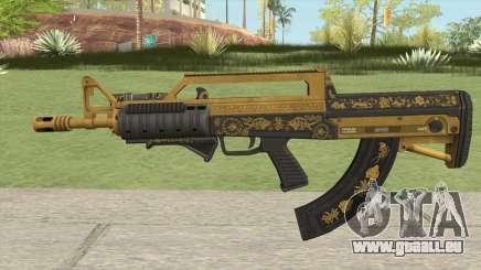 Bullpup Rifle (Two Upgrades V2) Main Tint GTA V für GTA San Andreas