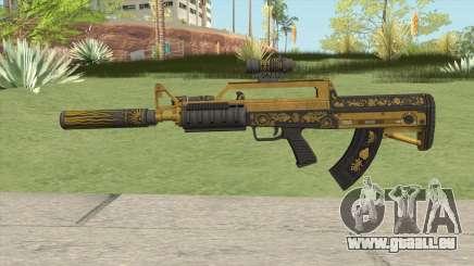 Bullpup Rifle (Three Upgrade V5) Main Tint GTA V für GTA San Andreas