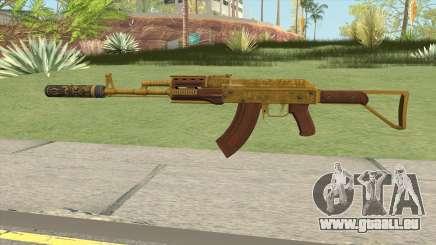Assault Rifle GTA V Suppressor (Default Clip) pour GTA San Andreas