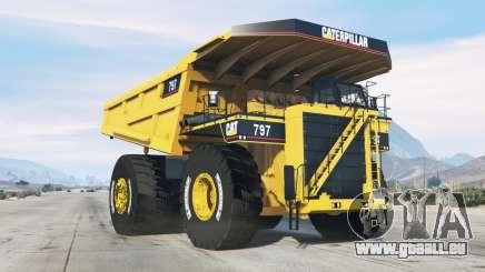 Caterpillar 797 pour GTA 5