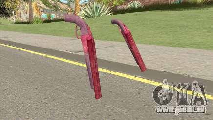 Double Barrel Shotgun GTA V (Pink) für GTA San Andreas