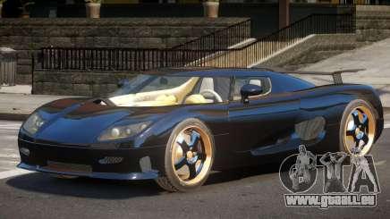 Koenigsegg CCRT ST für GTA 4