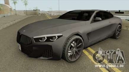 BMW M850i 2019 (Low Poly) pour GTA San Andreas