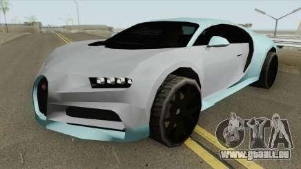 Bugatti Chiron Sport 110 Ans (SA Style) 2019 für GTA San Andreas