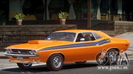 1971 Dodge Challenger R2 pour GTA 4