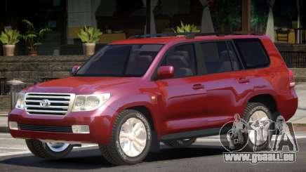 Toyota Land Cruiser 200 V1.1 pour GTA 4