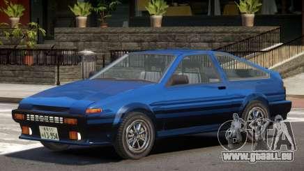 1986 Toyota Sprinter V1.1 pour GTA 4