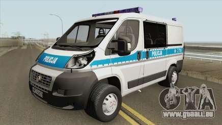 Fiat Ducato (Policja KSP) für GTA San Andreas