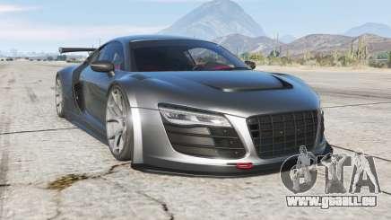 Audi R8 LMS Street Custom v1.2 pour GTA 5