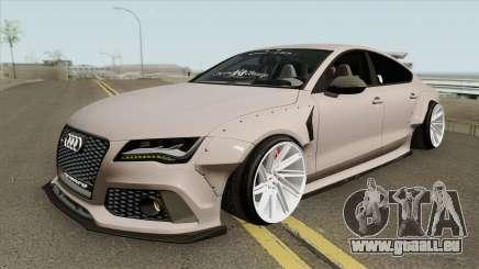 Audi RS7 Sportback X-UK 2013 pour GTA San Andreas