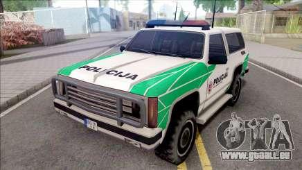 Lietuviska Police Ranger (Nauja) pour GTA San Andreas