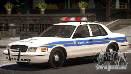 Ford Crown Victoria Police Unit pour GTA 4
