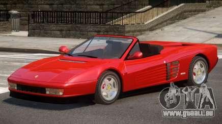 Ferrari Testarossa Roadster pour GTA 4