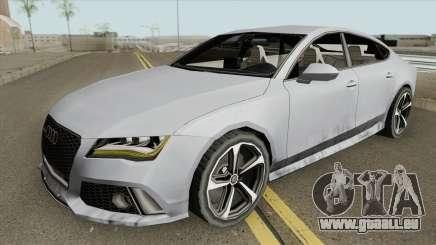 Audi RS7 2014 (White Interior) pour GTA San Andreas
