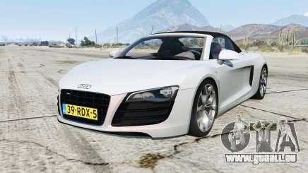 Audi R8 Spyder pour GTA 5
