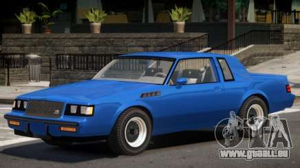 1987 Buick GNX V1 für GTA 4
