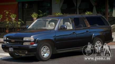 Chevrolet Suburban Y03 pour GTA 4